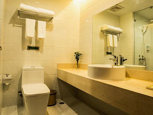 酒店长洗手台效果图