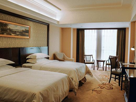 酒店拥有各式欧式风格房间138间