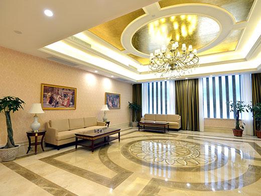酒店会议室休息区