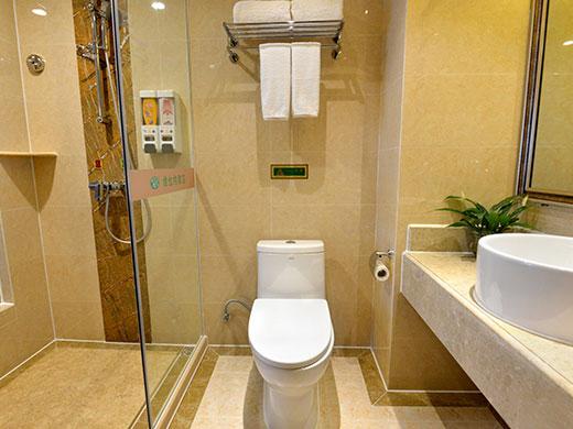 酒店房间洗手间