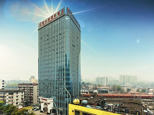 维也纳国际酒店 湖南株洲火车站中心广场店