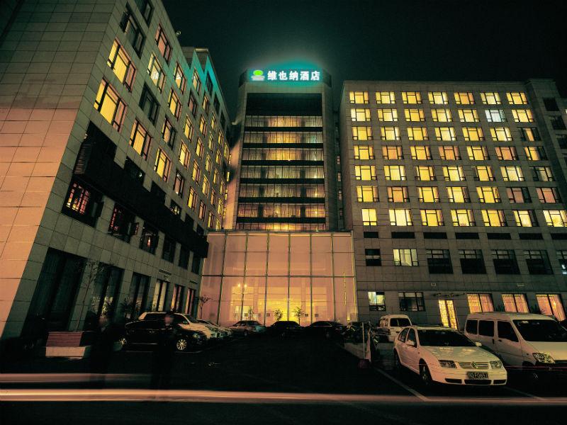 酒店楼体-夜景