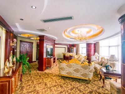 总统套房客厅