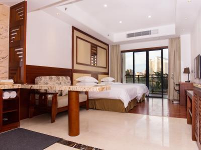 舒适景观双床房